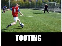 Find football in TOOTING, play football in TOOTING, join tooting football team, soccer in london