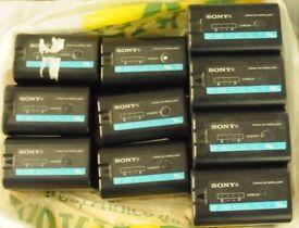 Sony BP-U30 & BP-U60. do not hold charge.
