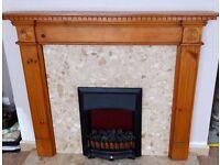 Wood Mantle Piece Fire Surround