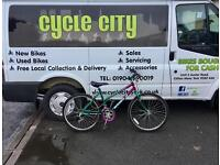 "GIRLS MOUNTAIN BIKE 24"" WHEELS £25"