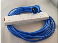 10M Electric hook up lead