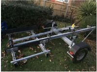 Boat Trailer - D and A (D&A) trailer - 21ft - 1200lb **excellent condition**