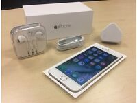 Boxed Gold Apple iPhone 6 64GB On O2 / GiffGaff / Tesco Networks + Warranty