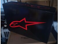 Alpinestars S-MX 6 motorcycle boots. Brand new, unused. Red black