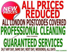 ALL LONDON SHORT NOTICE GUARANTEE ON END OF TENANCY CLEANING SERVICES CARPET DOMESTIC HOUSE CLEANERS