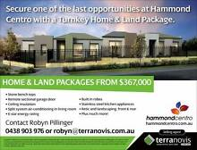 **Opportunity to Buy** House & Land packages in HAMMOND CENTRO Hammond Park Cockburn Area Preview