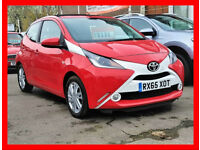 £0 TAX- AUTO-- 2015 Toyota AYGO 1.0 Automatic 25000 Miles -- X-pression 5 Door -alike c1 peugeot 107
