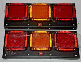 252 LED REAR TAIL LIGHTS 12V 24V TRUCK LAMP TRAILER STOP BRAKE LIGHT & INDICATOR
