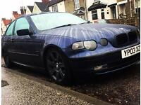 BMW 316ti compact modified spares or repairs