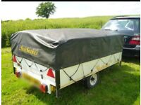Sunseeker deluxe aluminium bodied trailer tent