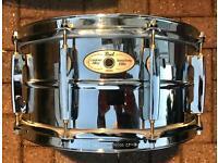 Pearl Sensitone Elite Custom Alloy 10 Lug Snare Drum 14x6.5