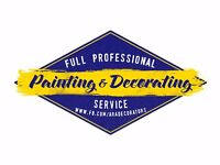 Full Professional Painting & Decorating Service