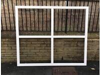 Large white Upvc 4 pane window ( non opening) great condition
