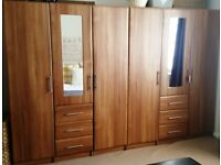 Starplan Walnut Bedroom Set