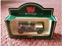 TV Times Diecast Replica of a Green 1930 4 1/2 Litre Bentley Model Car Collectible