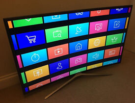 ULTRA THIN *CURVED* 40in Samsung LED Smart TV -800hz- wifi- Freeview HD - WARRANTY
