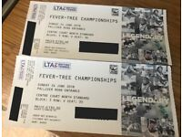 2x Fever-Tree Championships (Queens) Tickets - Sunday 25th June - FINALS: Djokovic vs Cilic (2.30pm)
