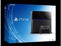 PlayStation 4 1TB SSHD + 2 Games + Brand Nearly New Controller