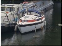 Sailboat / narrowboat/ canal boat / cruiser / sail boat