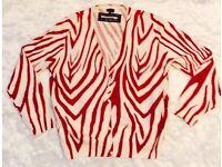 UK size 20 dressy cardigan.