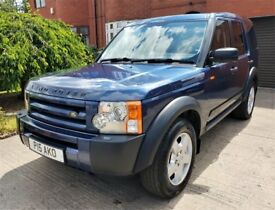 LAND ROVER DISCOVERY 3 2.7 TD V6 S AUTO 5DR 7 SEATER 2005