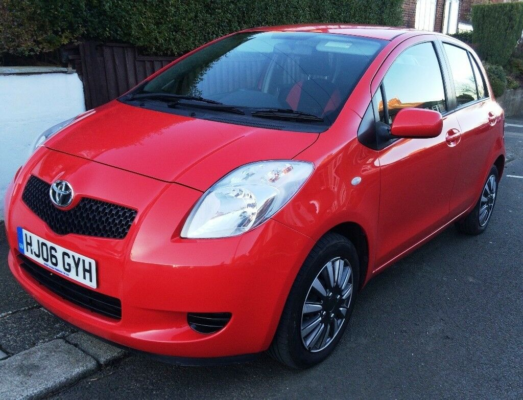 2006 Toyota Yaris 1.0 T3 5dr - Full Dealership Service History, Excellent Condition, MOT /Service
