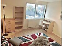 Double room, Regent's Park, Baker Street Station, Swiss Cottage, central London, zone 1, gt1
