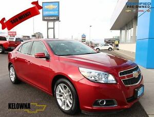 2013 Chevrolet Malibu ECO 2LT, Leather, Sunroof, Back-up Cam