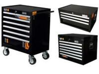 Halfords industrial tool chest drawer storage