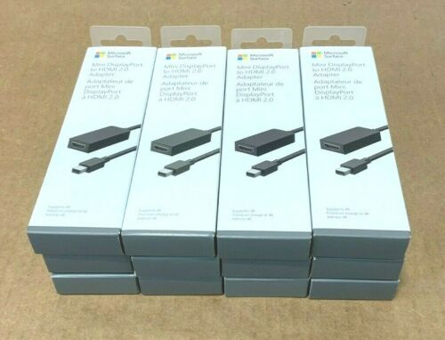 ⭐ SEALED Microsoft Mini DisplayPort to HDMI 2.0 Cable EJU-00001 NEW OEM  ❤️️✅