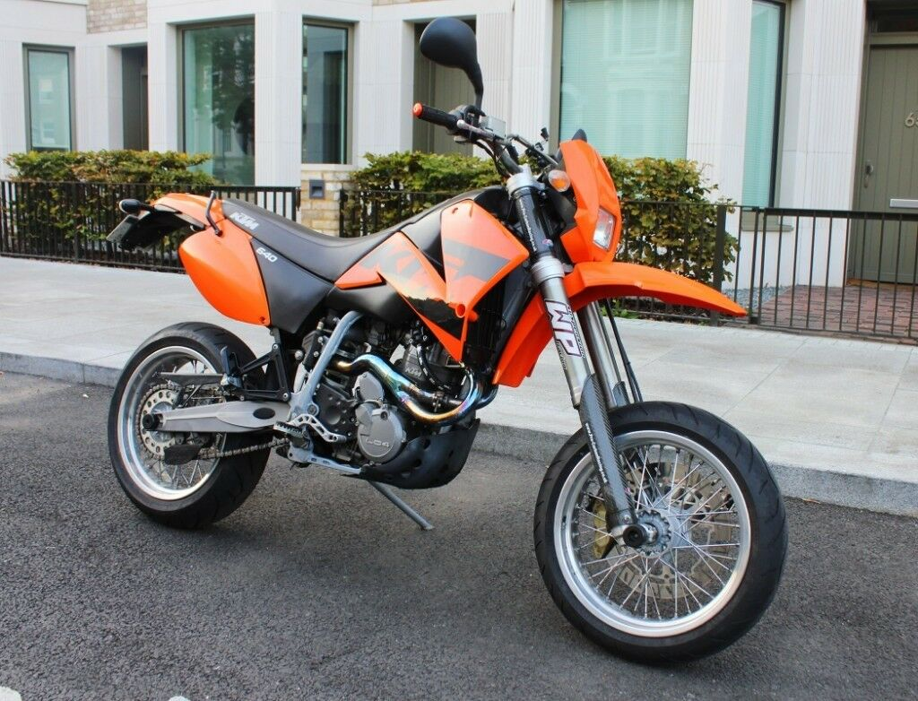 ktm 640 lc4 supermoto mint in elephant and castle. Black Bedroom Furniture Sets. Home Design Ideas