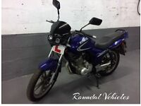 125 cc Kymco Pulsar LX , blue, 500 miles , IDEAL TRAINER/STARTER BIKE