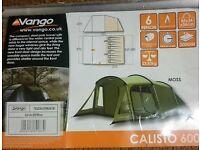 Vango calisto 600 tent 6 berth