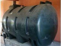 1350ltr single skinned diesel tank