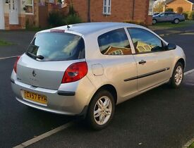 Price lowered £1100 Renault Clio 2007 1.5 Diesel £30 Road Tax For The Year!