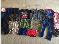 Mixed bundle of boys clothes age 5 - Next Gap TU