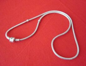 Silver Pandora Necklace, 45cm (590703HV-45)