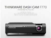 Thinkware Dash Cam F770 + Rear Cam + 32GB Glasgow Dundee Ayr CALL
