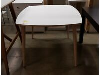 OMTÄNKSAM Table, white/birch95x95 cm, IKEA MILTON KEYNES #bargaincorner