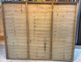 LAWMAC FENCING Manufactures 6 x 6 Overlap Fence Panel WAS £24.35 ON SALE NOW £15