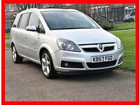 7 Seater -- Vauxhall Zafira 1.9 CDTi SRi -- 71000 Miles -- Part Exchange OK -- Good Mileage Zafira