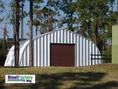 New Steel A30x30x14 Metal Storage Building Woodworking Shop Alpine Style