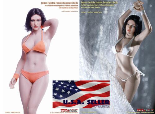 ❶USA IN STOCK❶ BUXOM TYPE TBLeague S28A S29B 1/6 Seamless Female Body M Bust