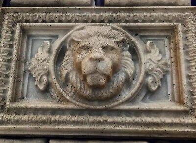 Lions Head Concrete Mold bas relief