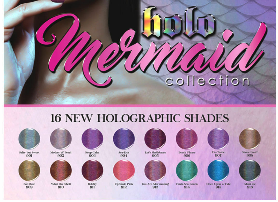 KIARA SKY -  Holographic Shade From HOLO Mermaid collection