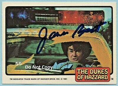 OLTRANE DUKES OF HAZZARD AUTOGRAPHED SIGNED CARD PHOTO PROOF (Roscoe P Coltrane)
