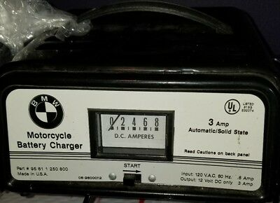 Rare vintage BMW Motorcycle Genuine Battery Charger