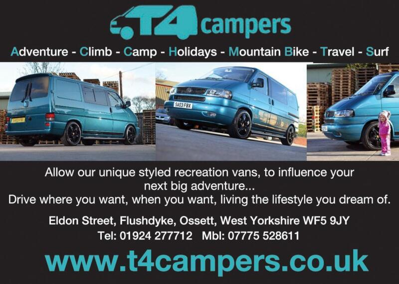About Us T4 Campers Ltd Are West Yorkshires Premier Camper Van Conversion Company Located In Ossett Just Off Junction 40 Of The M1 We A Family