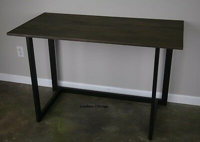 Desk. Urbanmodern. Reclaimed Wood Avail. Minimalist. Custom Configurations.