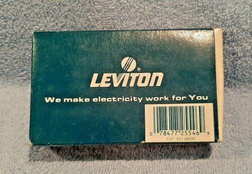 NEW Leviton 6599-I GFCI GFI Ground Fault Circuit Interrupter Receptacle IVORY